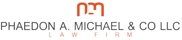 Phaedon A. Michael Law LLC Logo
